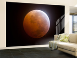 Lunar Eclipse Wall Mural – Large by  Stocktrek Images