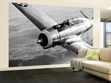 A Republic AT-12 Guardsman Aircraft in Flight Wall Mural – Large by  Stocktrek Images