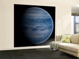 Artist's Concept of a Blue-White Gas Giant Planet Wall Mural – Large by  Stocktrek Images