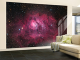 The Lagoon Nebula Wall Mural – Large by  Stocktrek Images