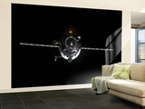 The Progress 41 Resupply Vehicle in Orbit Wall Mural – Large by  Stocktrek Images