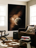 A Planet Full of Massive Mountain Chains and Vast Deserts Wall Mural by  Stocktrek Images