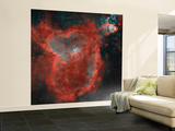 The Heart Nebula Wall Mural – Large by  Stocktrek Images