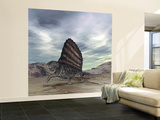 Dimetrodon Grandis Traverses Earth During the Early Permian Period Wall Mural – Large by  Stocktrek Images