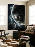 First Day on a Recently Colonized Earth-Like Planet Wall Mural by  Stocktrek Images