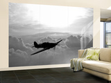 A Hawker Hurricane Aircraft in Flight Wall Mural – Large by  Stocktrek Images