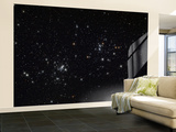 The Double Cluster in the Constellation Perseus Wall Mural – Large by  Stocktrek Images