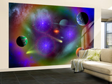 Conceptual Image of a Scene in Outer Space Wall Mural – Large by  Stocktrek Images