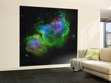 The Soul Nebula Wall Mural – Large by  Stocktrek Images
