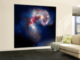 The Antennae Galaxies Wall Mural – Large by  Stocktrek Images