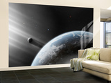 A Strange Alien Light Approaches the Earth Wall Mural – Large by  Stocktrek Images