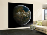 Artist's Concept of a Terraformed Mars Wall Mural – Large by  Stocktrek Images