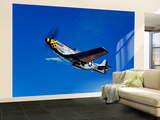 A P-51D Mustang Kimberly Kaye in Flight Wall Mural – Large by  Stocktrek Images