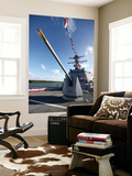 Guided-Missile Destroyer Uss Jason Dunham Wall Mural by  Stocktrek Images