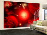 This Red Giant Star Is Much Older and Bigger Than Earth's Sun Wall Mural – Large by  Stocktrek Images