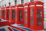 Phoneboxes-Union Flag Photo