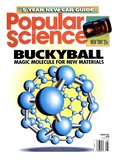 Front cover of Popular Science Magazine: August 1, 1991 Affiches