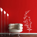 Thin Branches-White Wall Decal