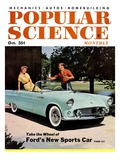 Front cover of Popular Science Magazine: October 1, 1950 Giclee Print