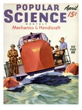 Front cover of Popular Science Magazine: April 1, 1940 Prints