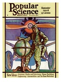 Front Cover of Popular Science Magazine: September 1, 1928 Poster