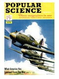 Front cover of Popular Science Magazine: April 1, 1940 Poster