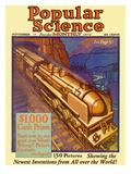 Front Cover of Popular Science Magazine: November 1, 1900 Print