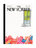 The New Yorker Cover - July 4, 2011 Regular Giclee Print