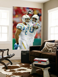 Chargers Chiefs Football: Kansas City, MO - Vincent Jackson Wall Mural by Charlie Riedel