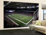 Packers Rams Football: St. Louis, MO - The Edward Jones Dome Wall Mural – Large by Tom Gannam