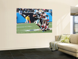 Buccaneers Panthers Football: Charlotte, NC - Jonathan Stewart Wall Mural by Rick Havner