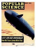 Front cover of Popular Science Magazine: May 1, 1940 Posters