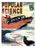 Front Cover of Popular Science Magazine: January 1, 1930 Prints