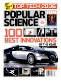 Front cover of Popular Science Magazine: December 1, 2006 Affiches