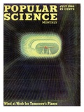 Front cover of Popular Science Magazine: July 1, 1946 Prints