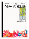 The New Yorker Cover - July 4, 2011 Premium Giclee Print by George Booth