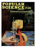 Front cover of Popular Science Magazine: December 1, 1946 Art