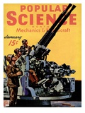 Front cover of Popular Science Magazine: January 1, 1940 Posters