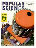 Front cover of Popular Science Magazine: November 1, 1930 Pósters