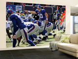 Raiders Giants Football: East Rutherford, NJ - Eli Manning Wall Mural – Large by Bill Kostroun