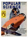 Front Cover of Popular Science Magazine: December 1, 1930 Posters