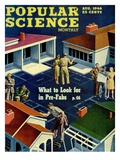 Front cover of Popular Science Magazine: August 1, 1946 Posters