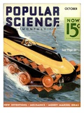 Front Cover of Popular Science Magazine: October 1, 1930 Lminas