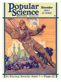 Front Cover of Popular Science Magazine: November 1, 1927 Prints