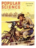 Front Cover of Popular Science Magazine: October 1, 1930 - Poster