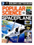 Front cover of Popular Science Magazine: October 1, 2007 Art
