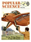 Front cover of Popular Science Magazine: October 1, 1949 Poster