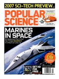 Front cover of Popular Science Magazine: January 1, 2007 Posters