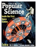 Front cover of Popular Science Magazine: December 1, 1962 Giclee Print
