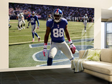 Raiders Giants Football: East Rutherford, NJ - Hakeem Nicks Wall Mural – Large by Bill Kostroun